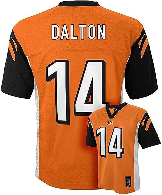 Outerstuff Andy Dalton Cincinnati Bengals #14 Orange Youth Mid Tier Alternate Jersey