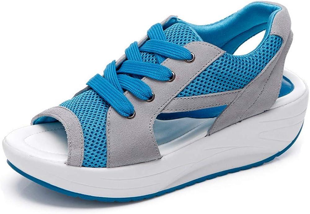 Women Sandal Summer Shoe Fish Head Sandals Women's Shoes Increased Shoes Canvas Shoes