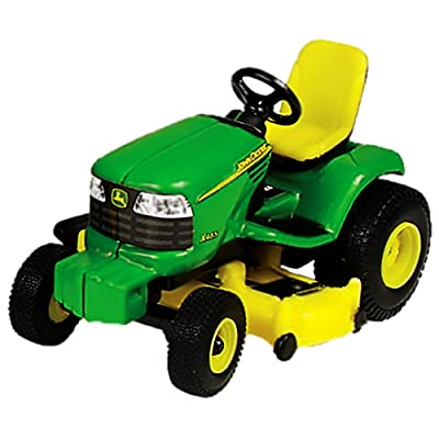 John Deere Lawn Tractor 1/32 Scale, Green, Yellow: Toys & Games