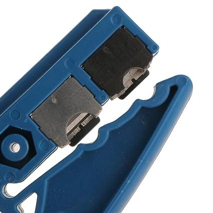 Sharplace Separador Cable Coaxial RG59 RG6 Herramienta de Desmontaje Cat 5e/6 UTP Cortador de