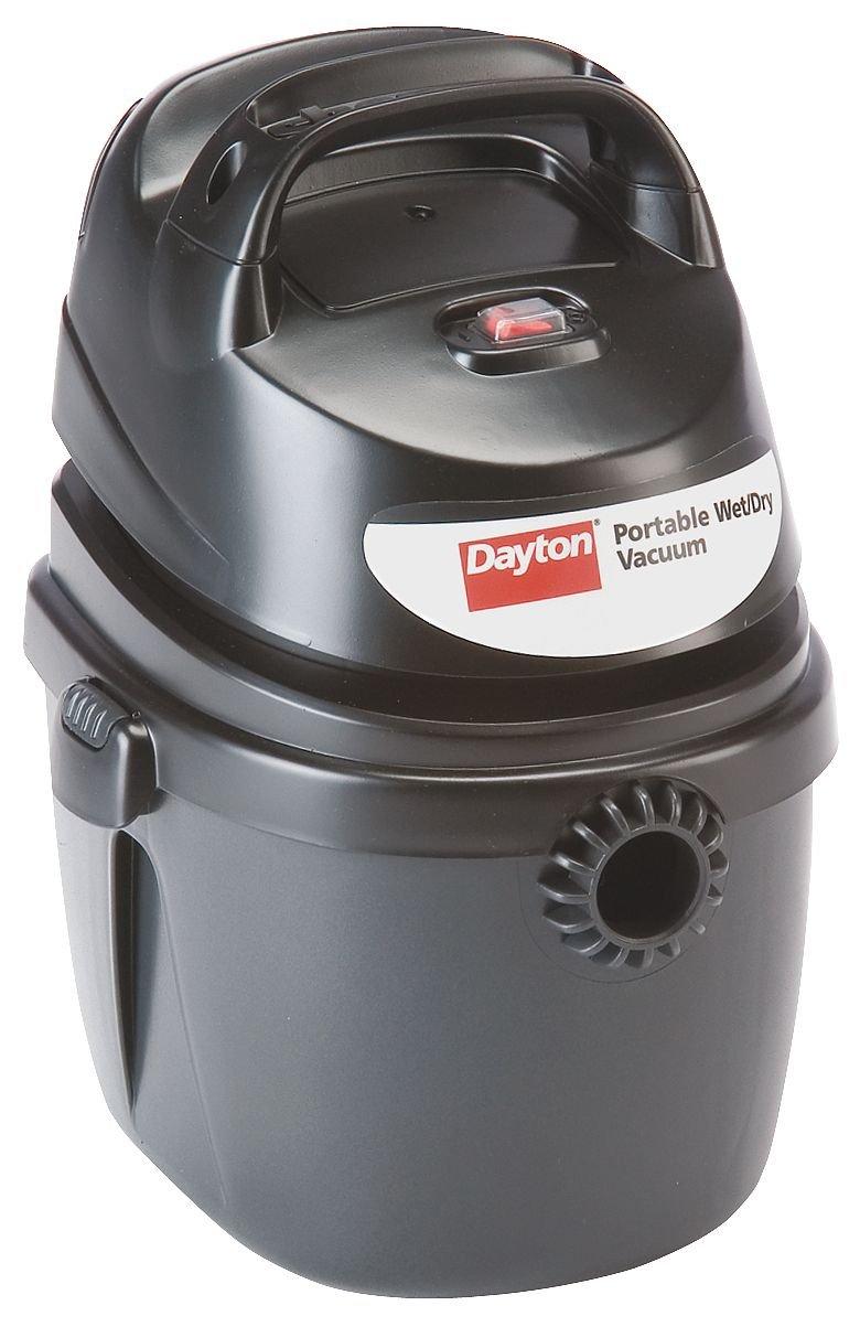 Dayton 2NYE3 Portable Vac, 1 5 Gal