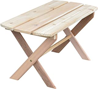 product image for Cedar Folding Coffee Table, Cedar Stain