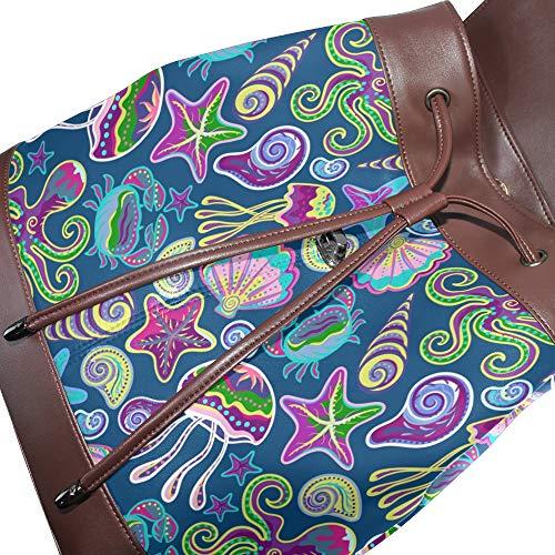 multicolore porté pour unique à dos Taille femme DragonSwordlinsu Sac au main q8ttvf