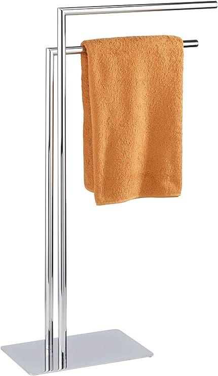 Handtuchständer Handtuchhalter Handtuchstange Freistehend Edelstahl Lava 2 Arme