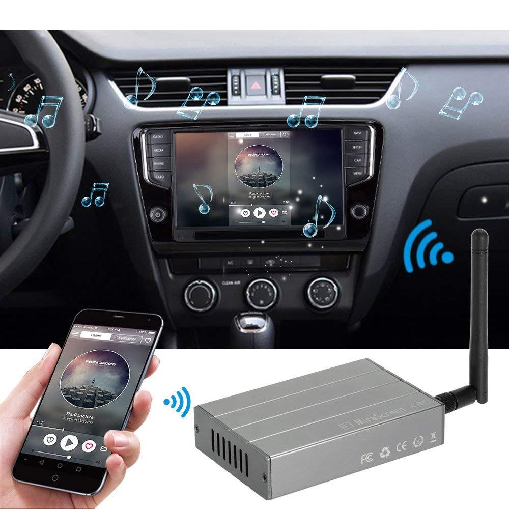 1080P Adattatore WiFi per Auto WiFi Display Rricevitore per Android//iOS Adattatore HD HDMI 720