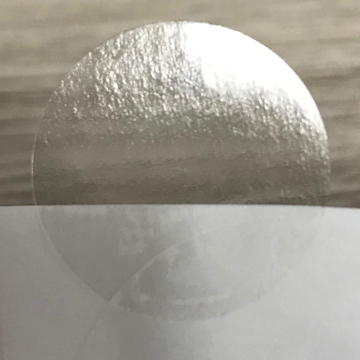 Clear Circle Seal Stickers 1 in Clear Round Labels 1000/roll Great as Envelope Seals, Newsletter mailing Seals, Clear Circle Labels or Other uses Where Wafer Seals or Clear Circle Stickers are Needed