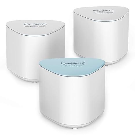 Amazon.com: SimpliNET2 AC2100 - Enrutador WiFi de malla para ...