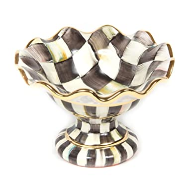 MacKenzie-Childs Courtly Check Mini Compote
