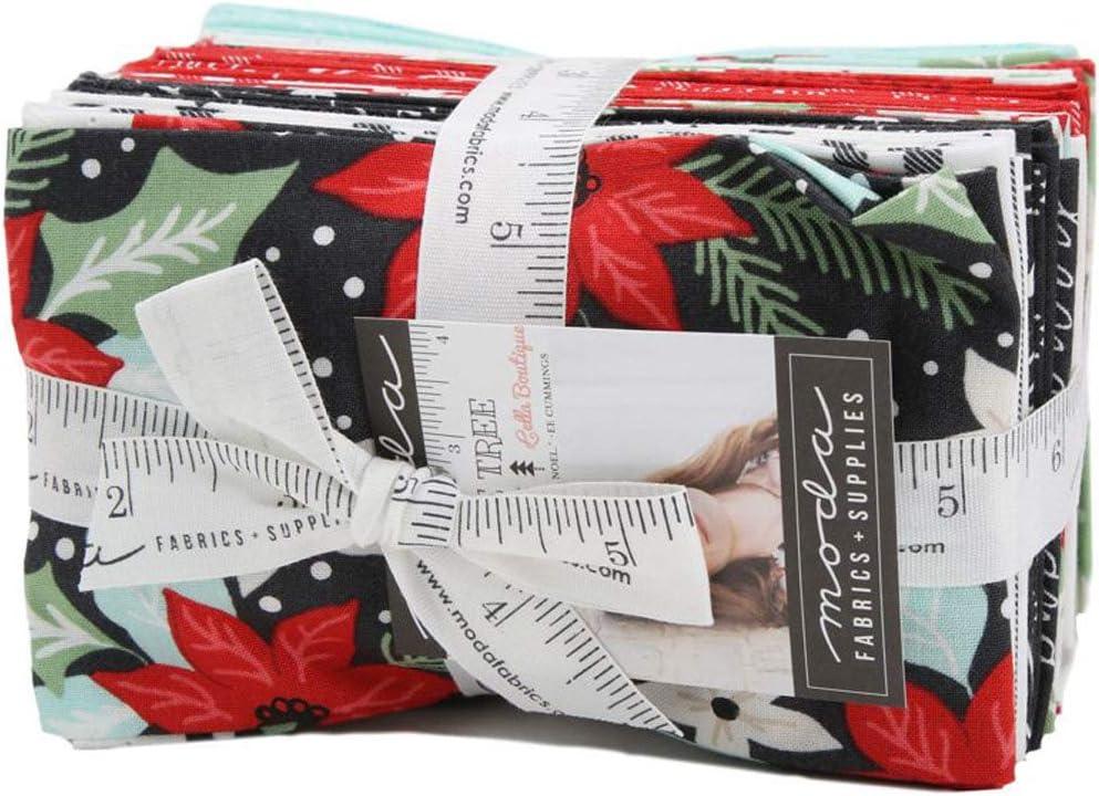 Little Tree Jelly Roll 40 2.5-inch Strips by Lella Boutique for Moda Fabrics