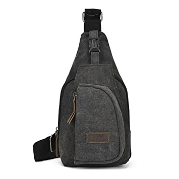 Canvas Shoulder Bags Chest bag Men Messenger Shoulder bag Casual Small  Crossbody High Quality Shoulder Bag e20d7cfae696e