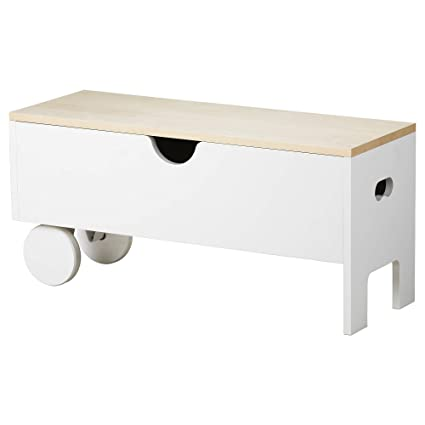 Peachy Amazon Com Ikea 604 309 88 Ps 1995 Storage Bench White Caraccident5 Cool Chair Designs And Ideas Caraccident5Info