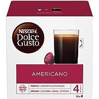 NESCAFÉ DOLCE GUSTO Caffè Americano Coffee Pods, 16 capsules (Pack of 3 - Total 48 Capsules, 48 Servings)