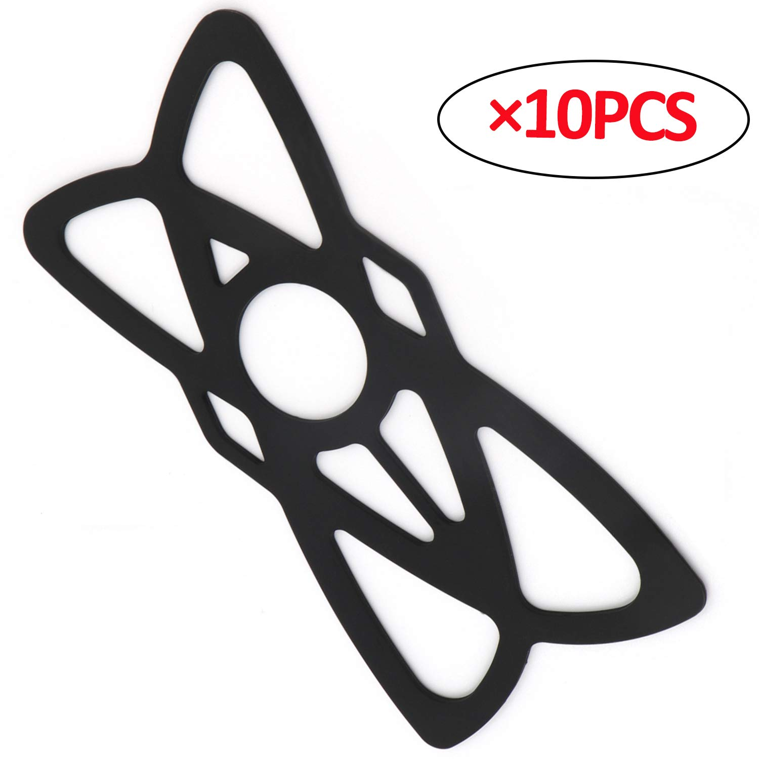 10PCS iMESTOU 10PCS Security Rubber Bands Silicone Replacement Straps for Motorcycle Phone Holders Bike//Bicycle Handlebar Cellphone Mounts