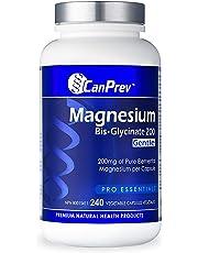 CanPrev Magnesium BisGlycinate 200, 240 Vegetable Capsules