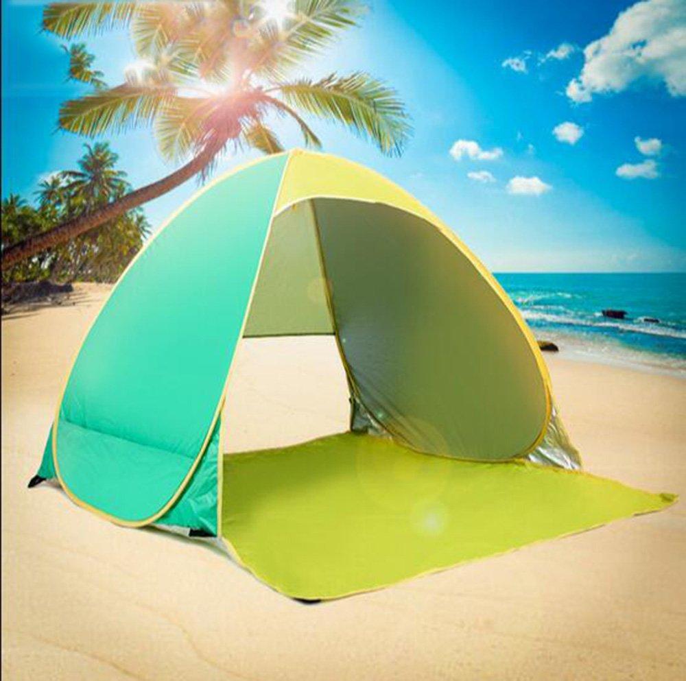 Carpa exterior 2 personas automático ultra-ligero ultra-ligero automático único auto-conducción camping sol camping playa tiendas de campaña b57757