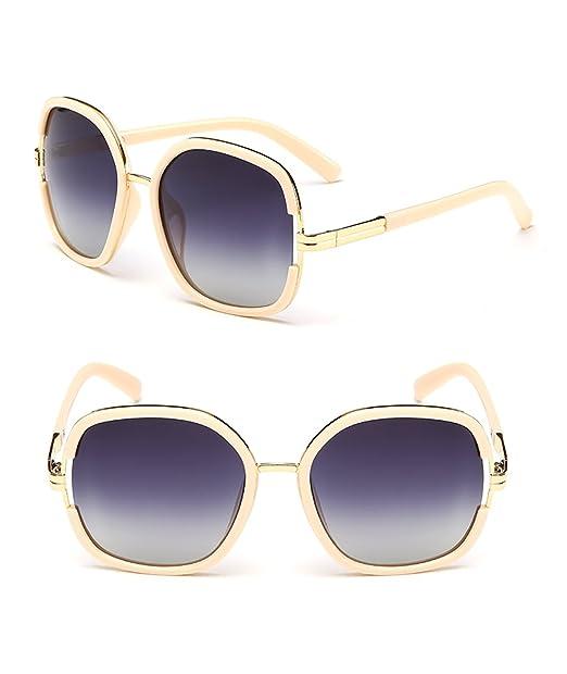 Gafas de sol polarizadas de protección UV moda marea Tac lentes para las mujeres