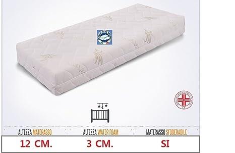 Materasso Ortopedico Per Lettino.Materasso Ortopedico Ideale Per Culla E Lettino Mis 60x120 In Water