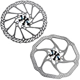 MTB Hydaulic /& Mechanical cable Disc Brake Rotor 160mm 180mm 203mm incl bolts