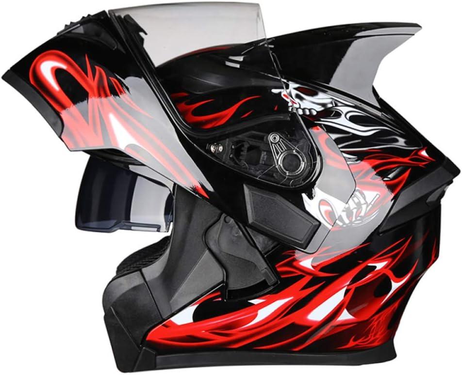 Rmckj Q Casco De Moto Mujer Modular M XXXL Cascos De Moto