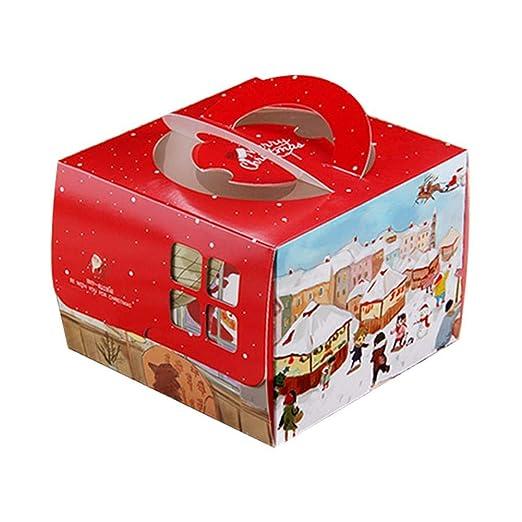 10pcs Cajas de Regalo Decorativos para Navidad Decoradas para ...