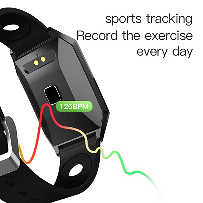 Amazon.com : Smart Watch with Fitness Tracker, Bluetooth ...