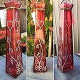 Glass Tower Incense Stick Burner