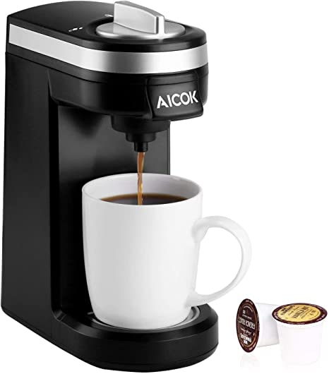 Amazon.com: AICOK cafetera eléctrica de una sola porción ...