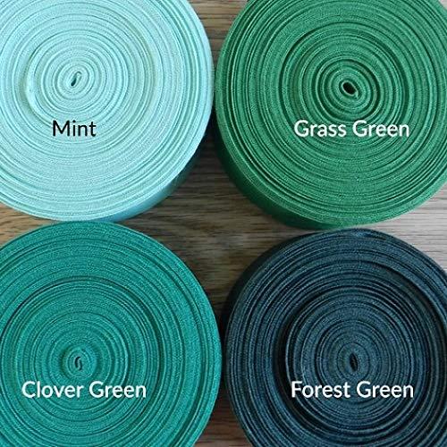 viscosa banda 5//9/mm Zig Zag Borte 25/m dentadas litz bordados muchos colores verde oscuro