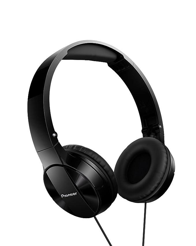 3 opinioni per Pioneer SE-MJ503T Cuffie ad Archetto con Microfono, Nero