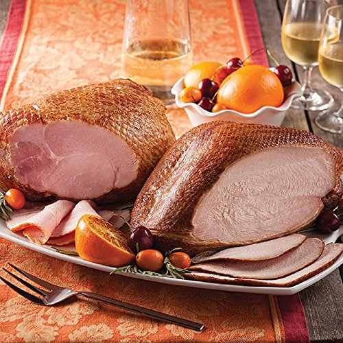 Gourmet Foods, Meats, Bone-In Ham & Smoked Turkey Duo, 4-5 lb Smoked Bone-In Ham 4-5 lb Smoked Turkey Breast by Unknown