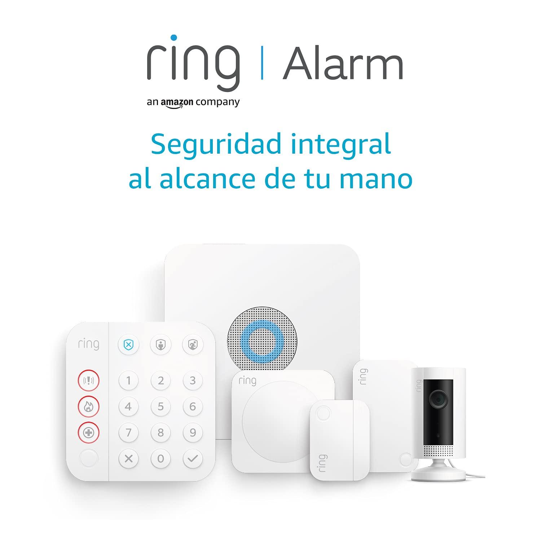 Nuevo kit de 5 piezas Ring Alarm de Amazon (2.ª generación) con Ring Indoor Cam   Sistema de seguridad para el hogar y con vigilancia asistida opcional, sin compromisos a largo plazo