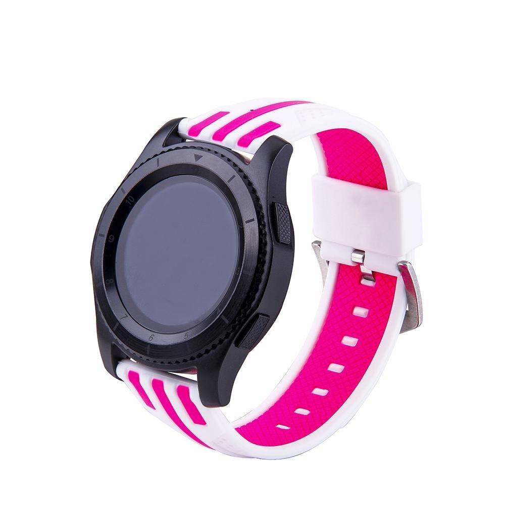 Kobwa para Samsung Gear S3 frontera/Classic reloj banda, 22 mm ...
