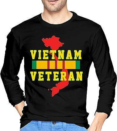 Gildan Tee T-Shirt Cotton Crew neck For Men Women Vietnam Veteran Army