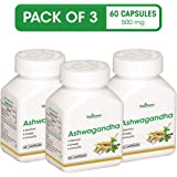 VitaGreen Ashwagandha Capsules (450 mg, 180 Count) Pack of 3