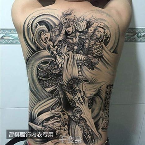 God of War Zhao Zilong Zhao Yun imagen grande pegatinas de tatuaje ...