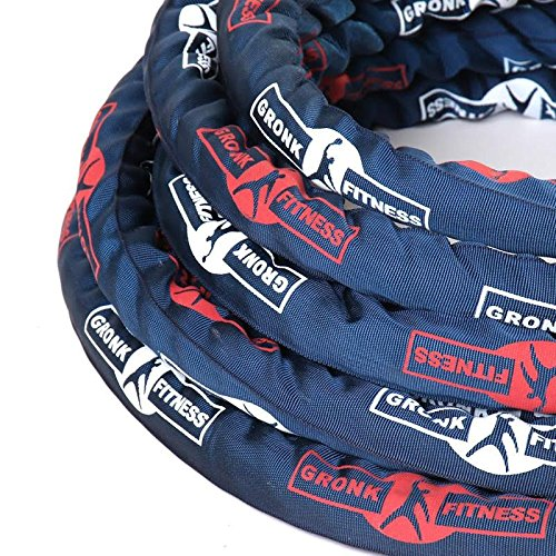 Gronk Fitness Battle Rope w/ Sleeve - 50' by Gronk Fitness Products (Image #3)