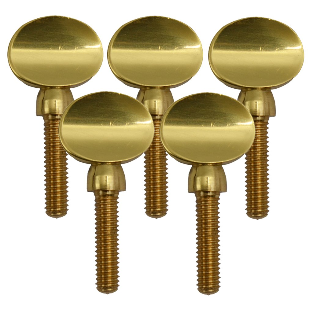 Dovewill 5 Pcs Copper Saxophone Neck Screw Tightening Screw for Sax Saxophone Clarinet