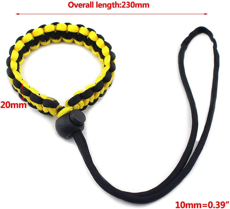 Horenme Nylon Paracord Braided Wristband Digital Camera Hand Grip Wrist Strap for /Νiḱọṇ Ϲaṇọṇ Ṡọṇy Pentax Panasonic DSLR Accessories