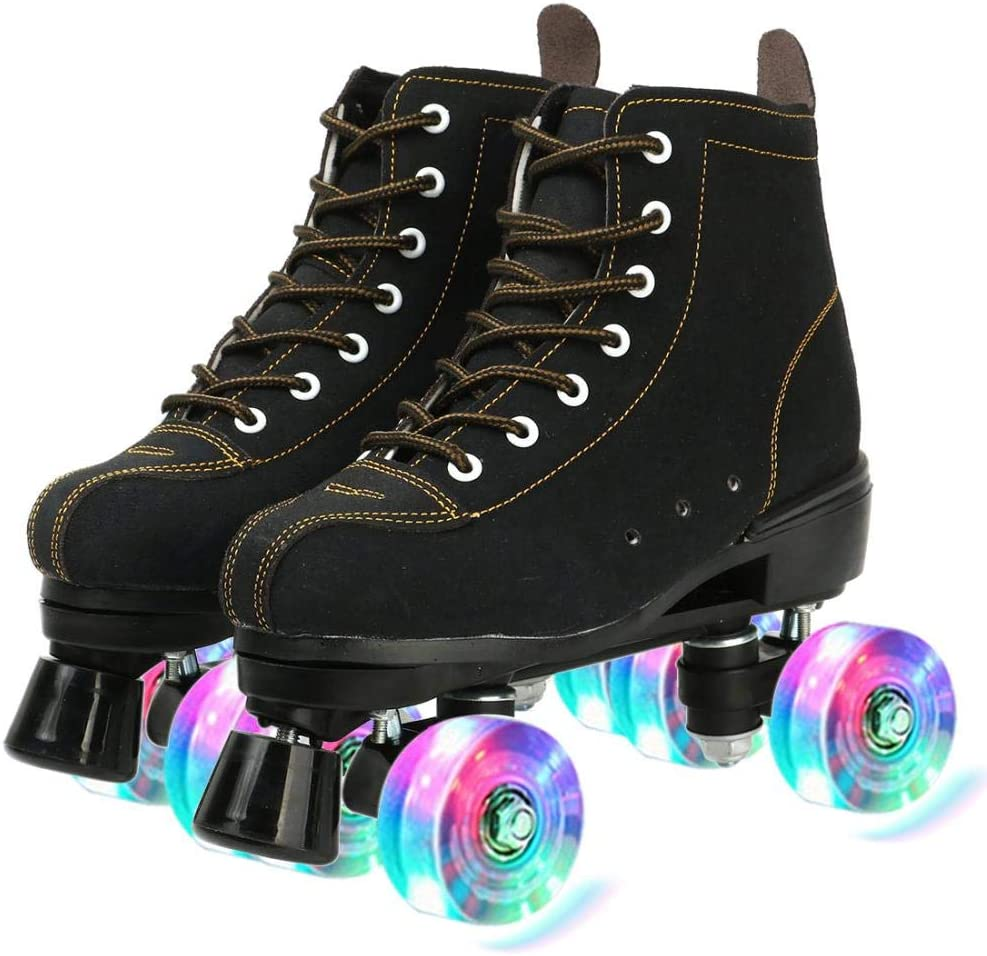 Roller OFFicial store Skates for Women Cowhide Washington Mall In and Outdoor