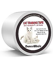 DanceWhale Anti-Kratzer Katzen Ausbildung Klebeband, 10cm x 30m Kratzschutz Katze Hund Transparent Selbstklebend Kratzfestes für Sofa, Tür, Tisch, Möbel
