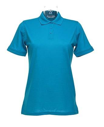 Kustom Kit Ladies Klassic Pique Polo Shirt KK703 Turquoise 10