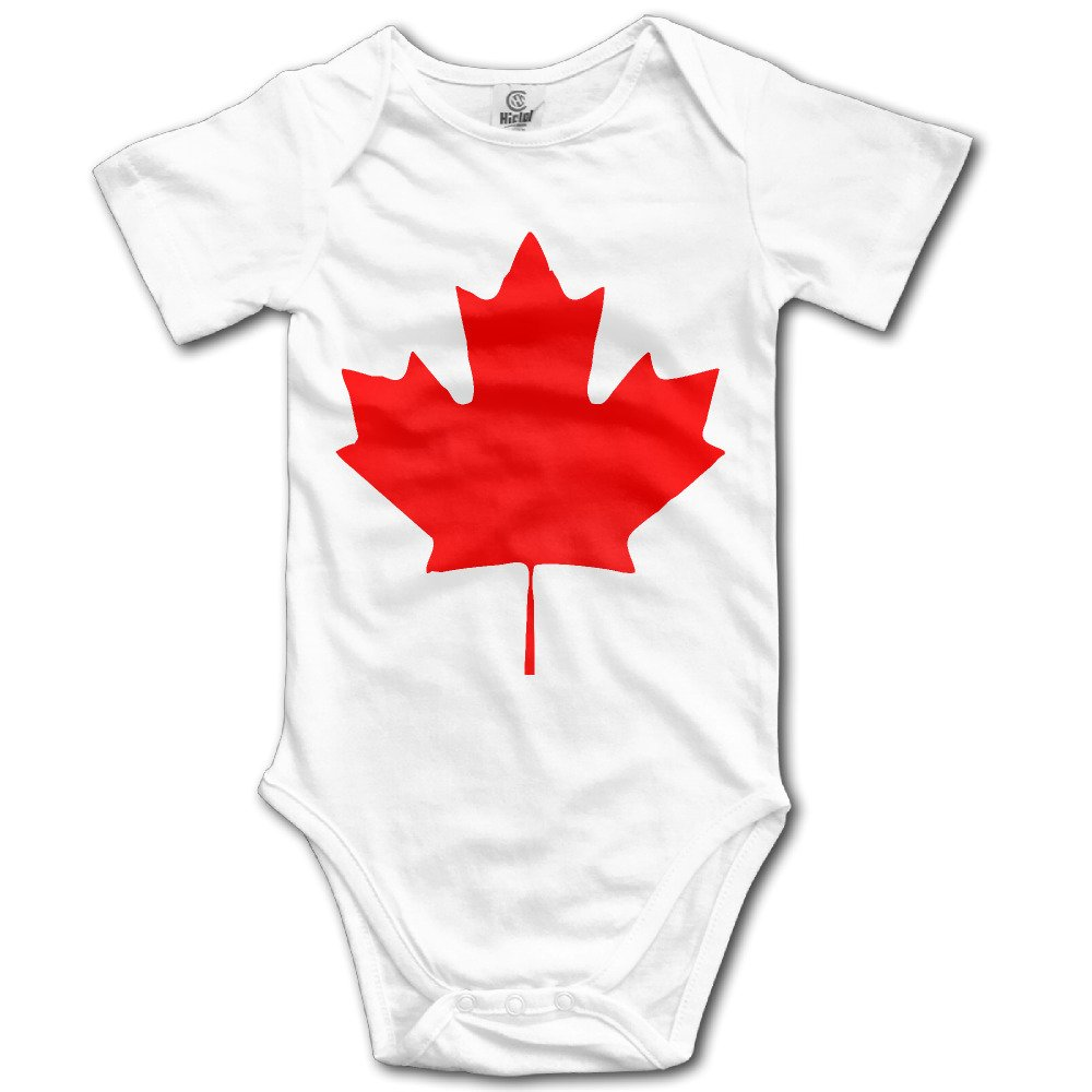 Love Baby Canada Maple Leaf Canadian Flag Summer Baby Onesie Clothing