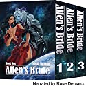 Alien's Bride Box Set Audiobook by Yamila Abraham Narrated by Rose DeMarco