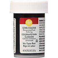 Wilton Colorante Alimenticio para Glaseado en Pasta, 28.3g, Color Rojo sin Sabor, 04-0-0048