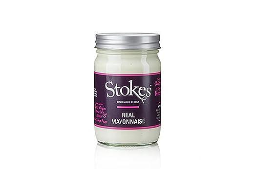 Stokes Real Mayonnaise, glutenfrei, 356 ml: Amazon.de: Lebensmittel ...