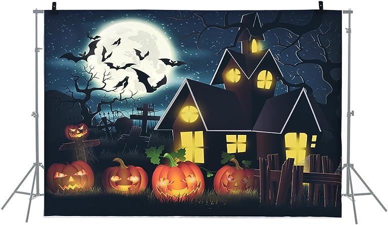 Andoer 6.9 * 5ft/2.1 * 1.5m Telón de Fondo de Halloween Fotografía ...