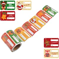 L LIKED Gift Label Stickers Christmas Gift Tag Stickers - to and from, Peel and Stick Self Adhesive Present Labels for…