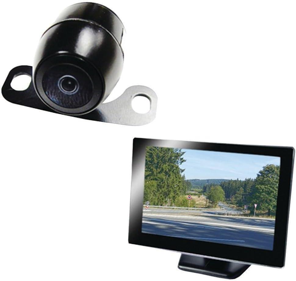 "Vehicle Backup Camera System with 4.3/"" Monitor and Backup Camera for Car Truck SUV and Van BOYO VTC164M"