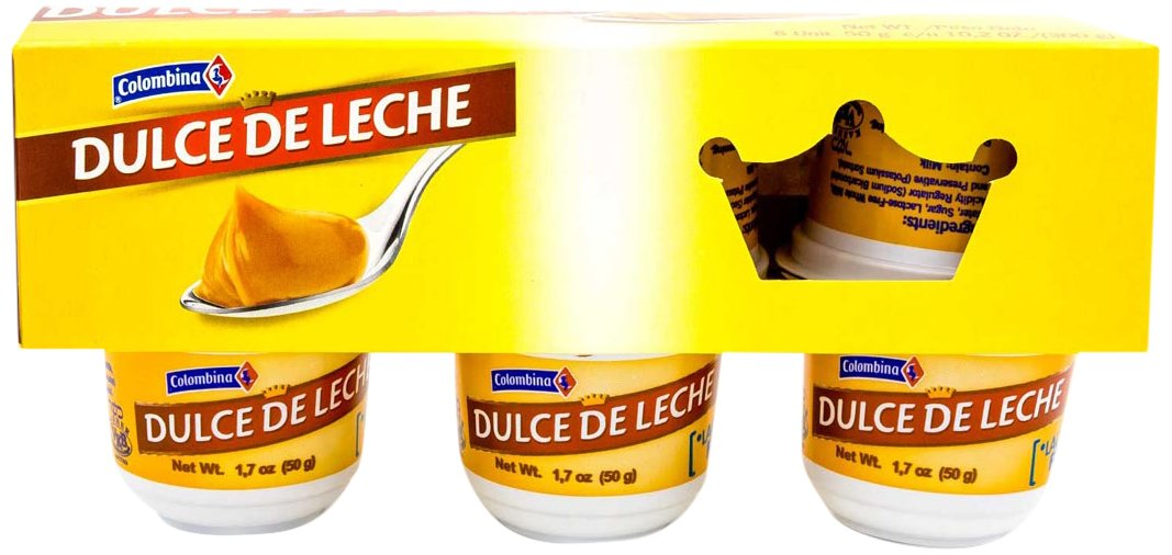 Amazon.com : Colombina Dulce de Leche Arequipe, 1.7 oz (Pack of 6) : Grocery & Gourmet Food