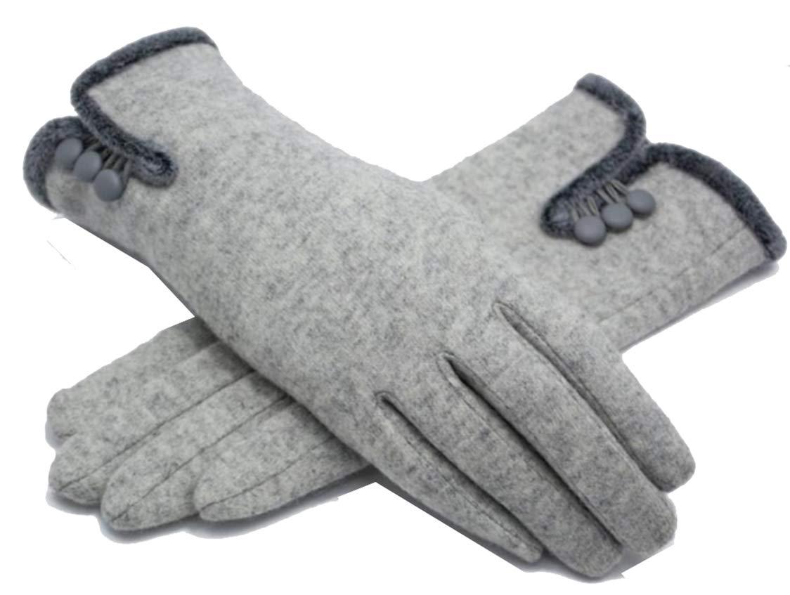 1509e02fa4f4ed Heyfun Damen Handschuhe Fäustlinge Merinowolle Winter Warm Winddicht  Radfahren Wandern Klettern Sport Touchscreen Handschuhe: Amazon.de: Sport &  Freizeit